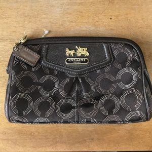 Coach Cosmetic Bag in Brown